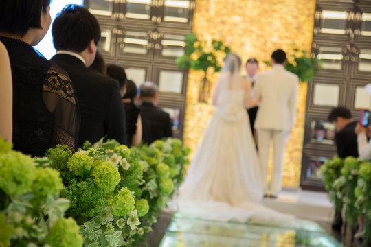 結婚式 チャペル 誓い 宣誓