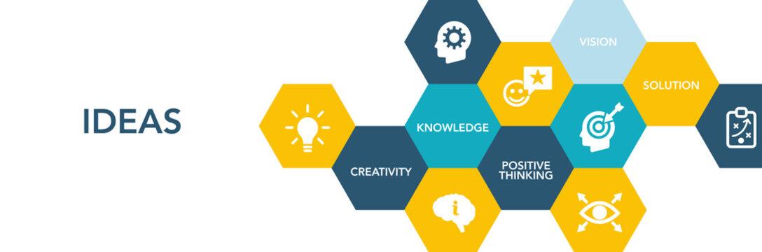 Ideas Icon Concept