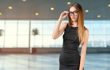 Modern business woman