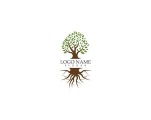 Tree icon logo design