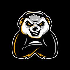 Panda gaming mascot