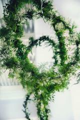 Obraz Zielona ozdoba - fototapety do salonu