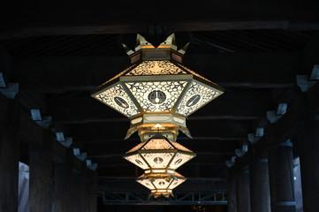 lamp at kiyomizu