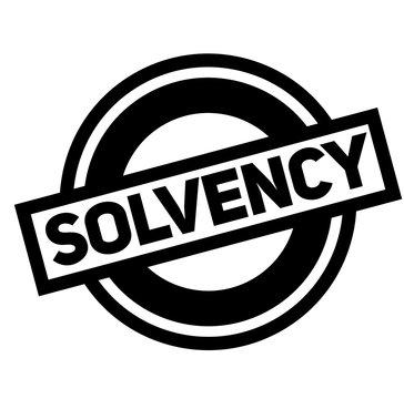 solvency black stamp