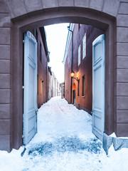 Gasse in Turku