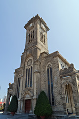 Christ the King Cathedral, Gothic Revival style tower clock