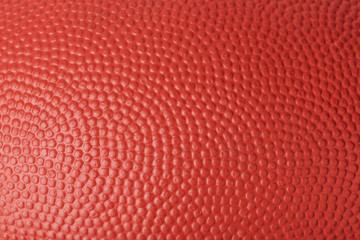 Texture of rugby ball