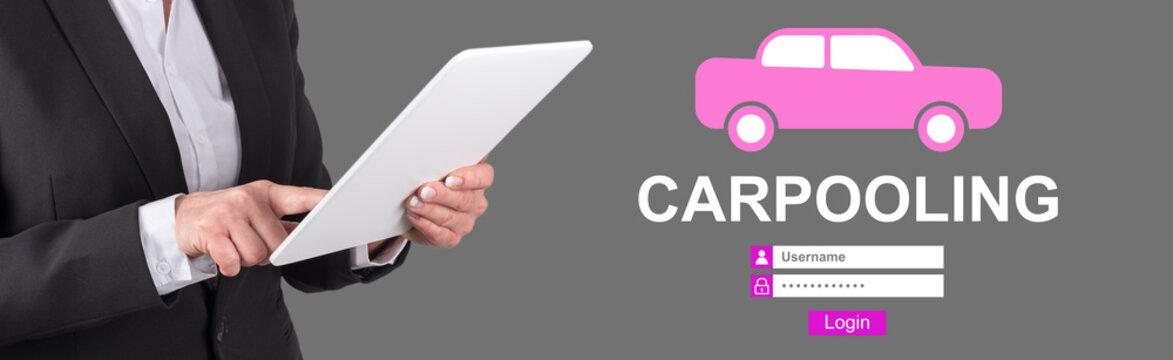 Concept of carpooling