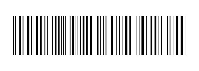 Realistic barcode. Barcode icon. Vector illustration.