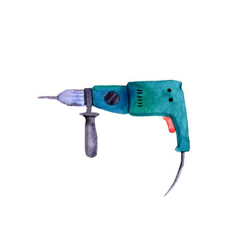 watercolor electric drill