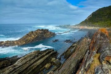 Beautiful south african coastline