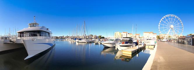 Port du Cap d'Agde en Occitanie, France