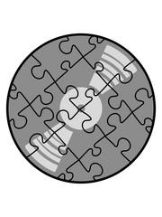 vinyl puzzle platte musik party feiern tanzen dj club disko liebe muster viele puzzlestücke teil puzzlespiel puzzleteil puzzeln form logo spaß bild design cool umriss hobby