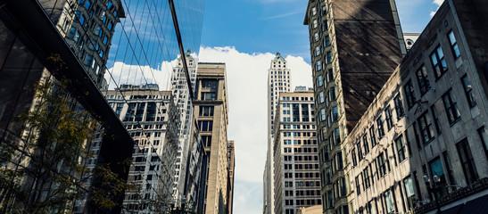 skyscrapers mirror