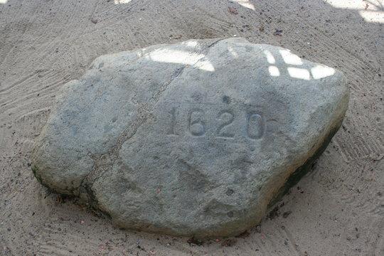 Plymouth Plymoth Rock 1620 Massachusetts Pilgrims Christopher Columbus Mayflower Thanksgiving
