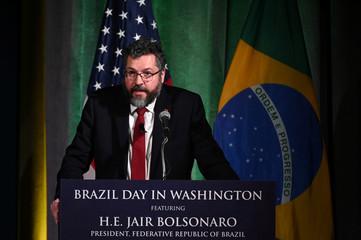 Brazil's Foreign Minister Araujo addresses Brazil-U.S. Business forum