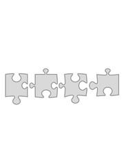 4 teile puzzle liebe teil puzzlespiel puzzleteil puzzlestück puzzeln form logo spaß bild design cool umriss hobby