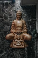 budha statue on garden