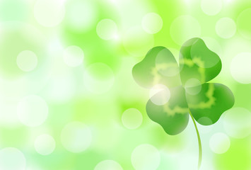 新緑 クローバー 緑 背景