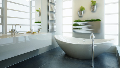 Modern Bathroom Adaptation - 3d visualization