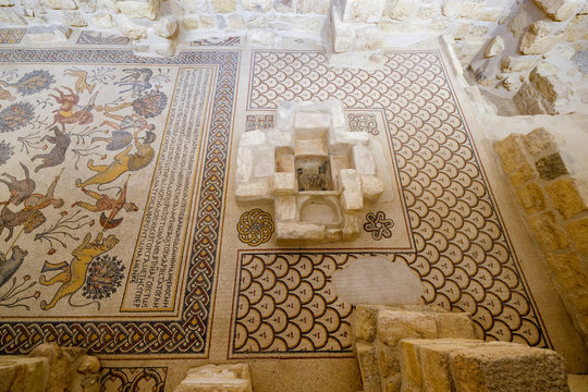 Holy place Mount Nebo in Jordan