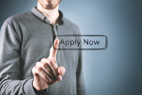 Apply now web interface