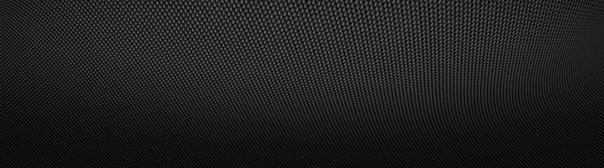 Fototapete - Carbon fiber texture. New technology background