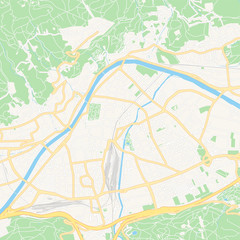 Innsbruck, Austria printable map
