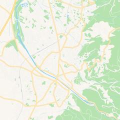 Dornbirn, Austria printable map