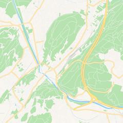 Feldkirch, Austria printable map