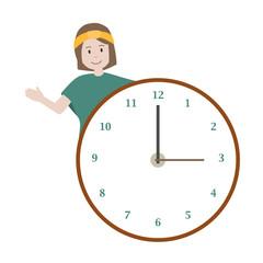 Uhrzeit lernen