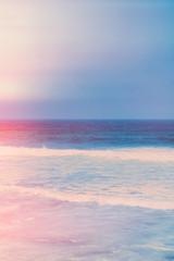 Dreamy ocean coast in summer