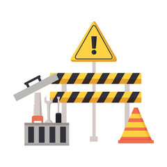 construction barrier tools