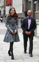 Britain's Catherine, Duchess of Cambridge visits the Foundling Museum in London
