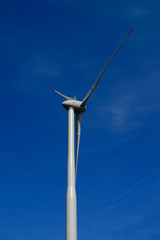 The new generation of wind turbines as part of the new German energy transition is becoming more and more dominant as part of the landscape and the economy