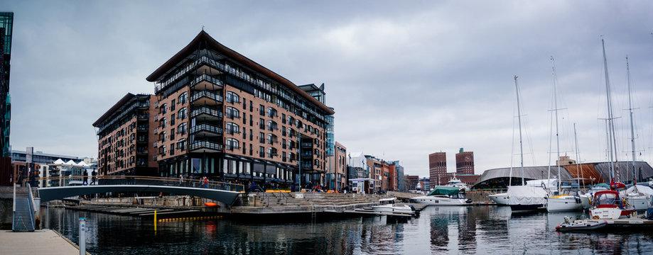 Oslo Norwegia Norway Norge Aker Brygge Skandynawia Scandinavia