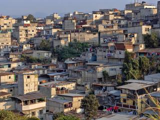 Poor living in Guatemala City