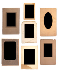 An Antique Picture Frame Collection with Space to Add Your Own Image