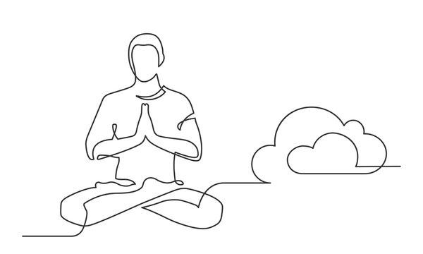 yoga one line