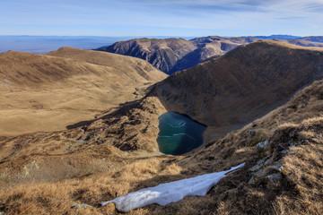 Urlea lake in Fagaras Mountains