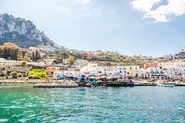 Italy, Campania, Capri, Marina Grande
