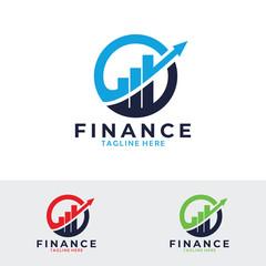 finance stats logo icon