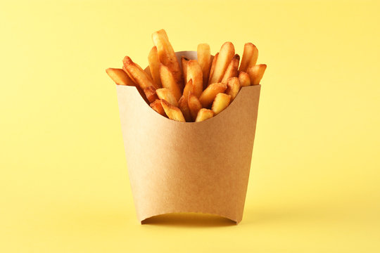 French fries in kraft french fry box