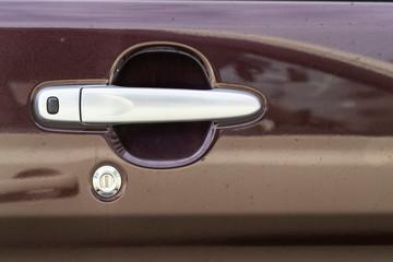 Aluminum car door opener