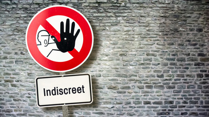 Sign 389 - Indiscreet