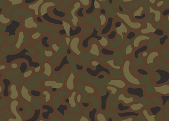green modern camouflage seamless pattern. vector background illustration for web, fashion, surface design