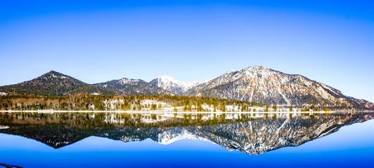 walchensee lake in bavaria