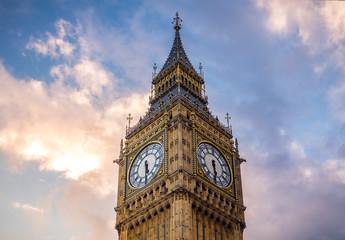 Photo sur Plexiglas Londres Big Ben at golden hour