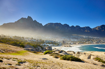 View of Camps bay, Cape town
