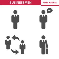 Businessmen Icons